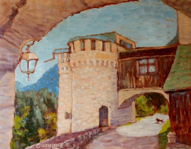 Austrian Castle, 11x14