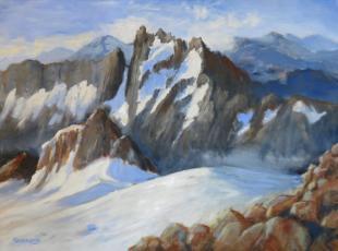 Eldorado Climb 30x40