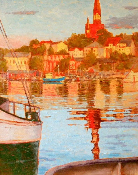 Golden Hour in Flensburg 20x16