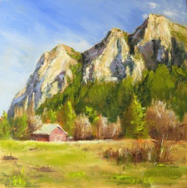 12x12 deep edge wood panel, Orig: $450, Sale: $300