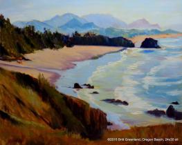 Oregon Beach 24x30