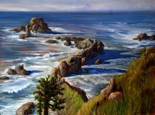 Oregon Coast 30x40