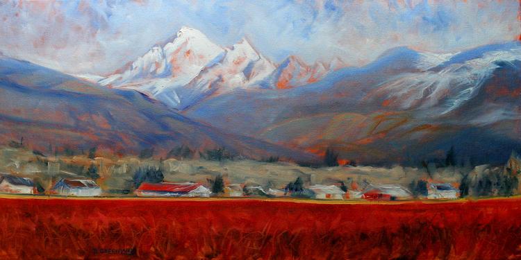SOLD Mt Baker Skagit Valley 15x30