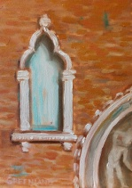 Venice Window 7x5, plein air