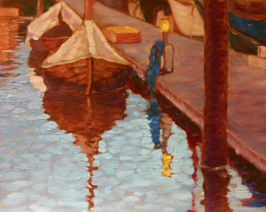 SOLD Wooden Boats in Flensburg 8x10